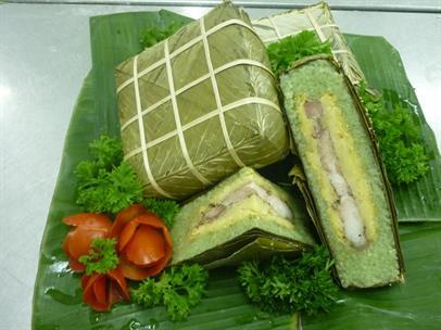 Bí quyết làm bánh chưng ngon và xanh tự nhiên