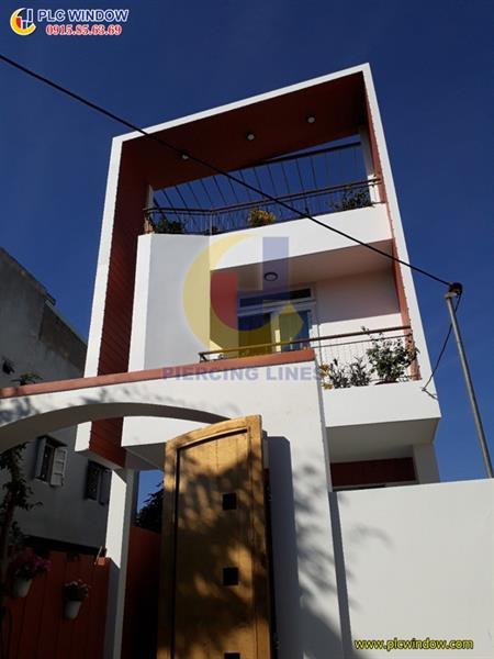 Công trình cửa nhựa lõi thép tại Đà Nẵng, Anh Hải , Đường Nguyễn Chích, Liên Chiểu, Đà Nẵng
