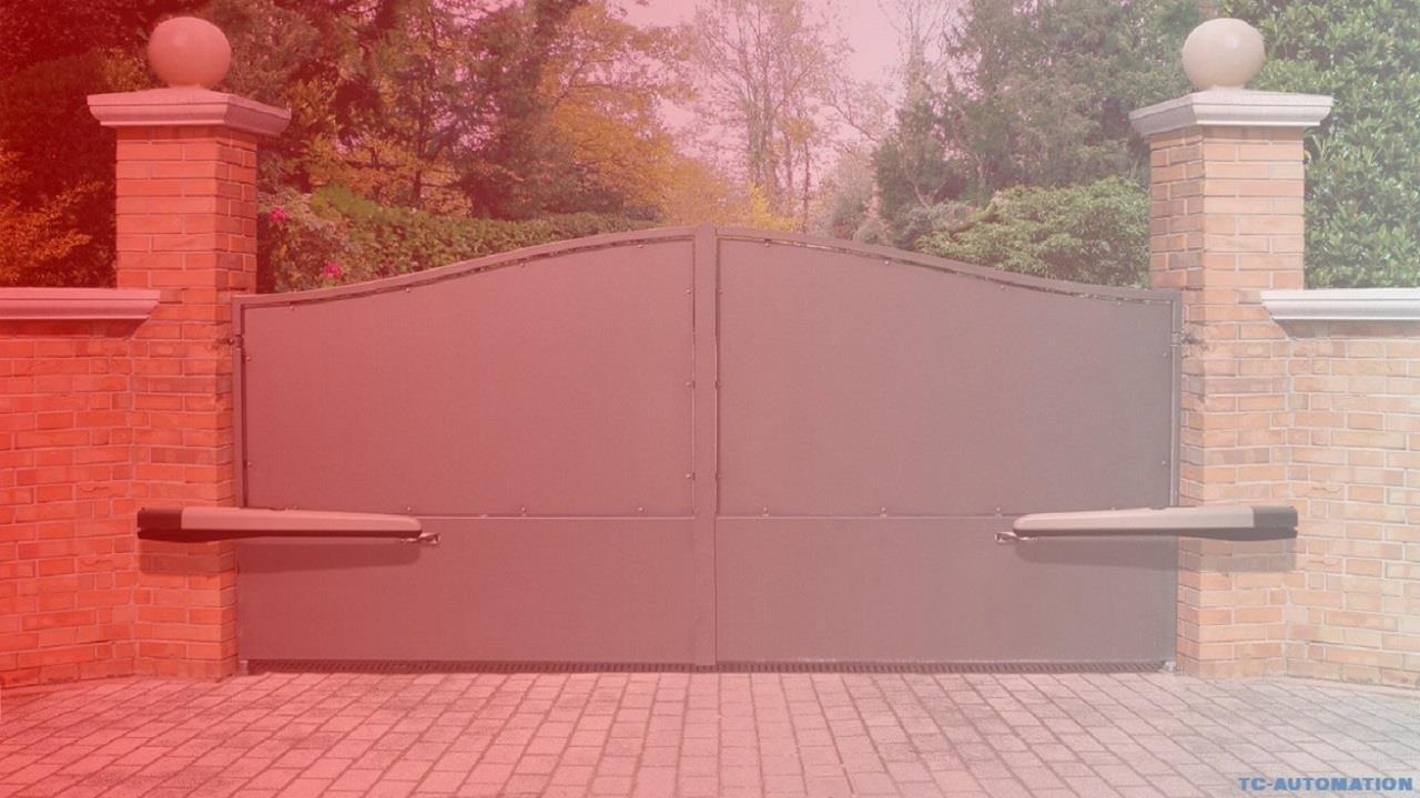 cổng tự động tay đòn