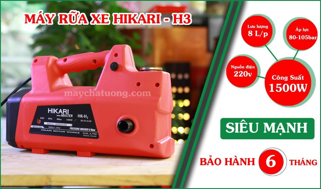 Máy rữa xe Hikari - H3