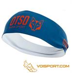 Băng đô thể thao Otso - NAVY BLUE & FLUO ORANGE (OBNb/Fo)