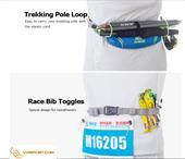 Đai đeo hông bụng (belt running) chạy bộ Aonijie E915