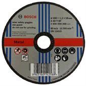 Đá cắt cho kim loại Bosch 100x1.2x16mm-2608600266