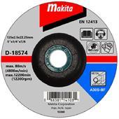 Đá cắt cho kim loại Makita Ø125x3x22.23mm-D-18574