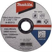 Đá cắt cho kim loại Makita 125x2.5x22.23mm-A-85313