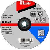 Đá cắt cho kim loại Makita Ø180x3x22.23mm-D-18580