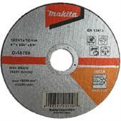 Đá cắt cho Inox Makita Ø100x1x16mm-D-18758