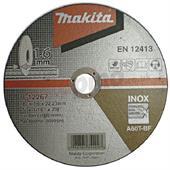 Đá cắt cho Inox Makita 180x1.6x22.23mm-B-12267