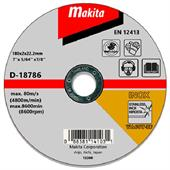 Đá cắt cho Inox Makita Ø180x2x22.23mm-D-18786