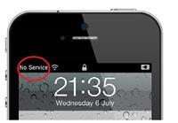 Sửa iPhone 5 bị mất sóng