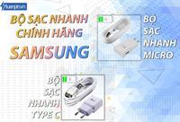 BỘ SẠC NHANH SAMSUNG MICRO/ TYPE C CHÍNH HÃNG