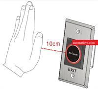 Nút bấm không tiếp xúc cửa tự động