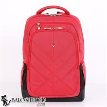 Balo laptop Sakos Eagle màu đỏ