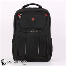 Balo laptop Sakos Turbo màu đen