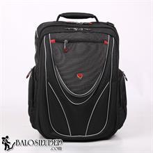 Balo laptop Sakos Neo Lamborghini màu đen