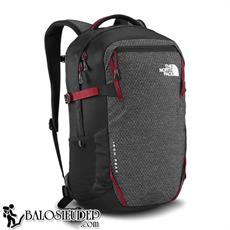 Balo laptop The North Face Iron Peak màu xám khóa đỏ