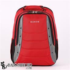 Balo Laptop Sakos Aventador Màu Đỏ