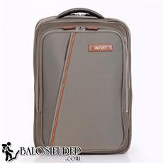 Balo laptop Sakos Zen i15 màu nâu