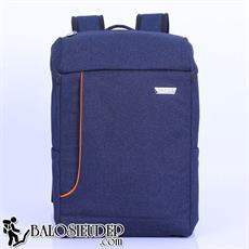 Balo laptop Sakos Beta xanh navy