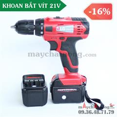 Khoan pin Li-on 21V LG