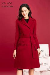 Áo khoác dạ Hàn Quốc dáng dài