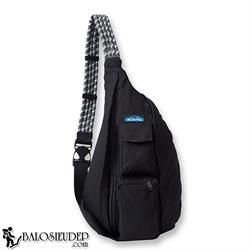 Túi đeo chéo Kavu Rope Bag màu đen