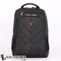 Balo laptop Sakos Eagle màu đen