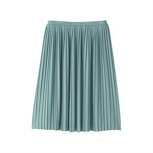 Váy xếp  ly _green_S_M. Cho mùa hè mát mẻ - WD117