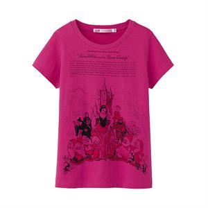 Áo phông bé gái Walt Disney Uniqlo - Ngộ nghĩnh, đáng yêu - K27