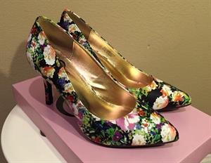 Giầy  hoa nữ xinh xắn - GM05
