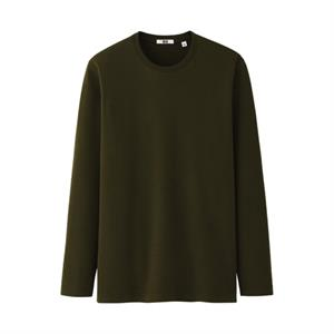 Áo cotton nam Uniqlo dài tay mềm mịn - UM01