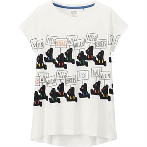 Áo phông bé gái Uniqlo - K25 - Ngộ nghĩnh, đáng yêu