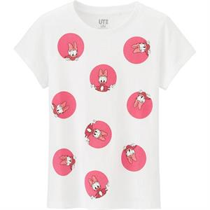 Áo phông bé gái Uniqlo - K24 - Ngộ nghĩnh, đáng yêu