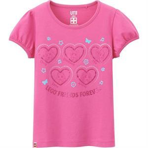 Áo phông bé gái Uniqlo - K12 - Ngộ nghĩnh, đáng yêu