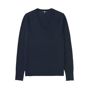 Áo len nữ  Extra Fine Merino Uniqlo - WL15