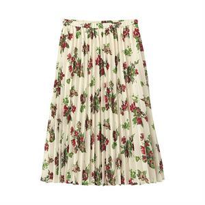 Chân váy hoa xinh xắn Gu - Uniqlo - WD132