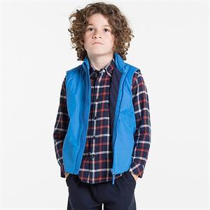 Áo khoác gile lót  lông cừu cho bé - WK24