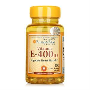 Viên uống bổ sung Vitamin E-400 IU 100 viên
