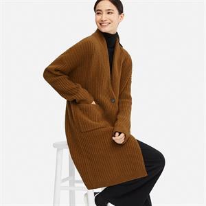 Áo choàng len nữ Uniqlo- WJ67