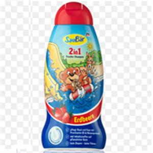 Sữa tắm, dầu gội - SauBär 2in1  hương dâu tây - ST5