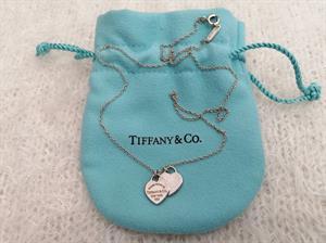 Dây chuyền Tiffany trái tim đôi huyền thoại