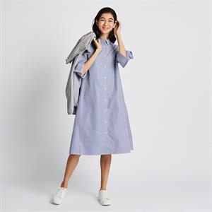 Váy sơ mi Uniqlo dáng A thời trang - WD217
