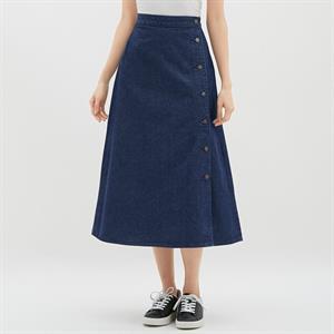 Váy bò Uniqlo dáng dài WD219