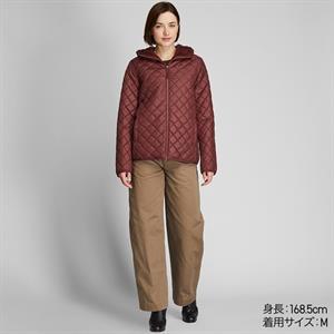 Áo khoác nữ trần trám, lót lông cừu Uniqlo Nhật - WJ64