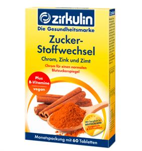 VIÊN UỐNG ỔN ĐỊNH ĐƯỜNG HUYẾT ZIRKULIN ZUCKER - STOFFWECHSEL