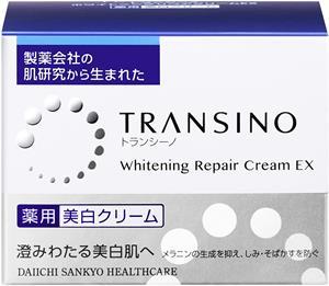 Kem trị nám, tàn nhang ban đêm - Transino Whitening Repair Cream Ex