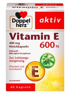 Viên uống bổ sung Vitamin E 600N Doppelherz của Đức