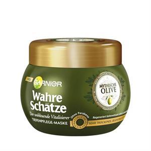 Kem Ủ Tóc Garnier Wahre Schatze  Olive - phục hổi tóc xơ và hư tổn