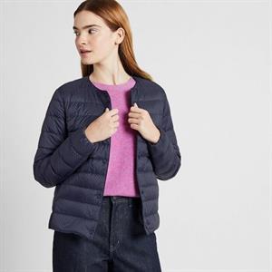 Áo siêu nhẹ Uniqlo nữ cổ tròn SG16