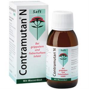 Siro trị ho, cảm cúm, cảm lạnh 5 trong 1 CONTRAMUTAN N
